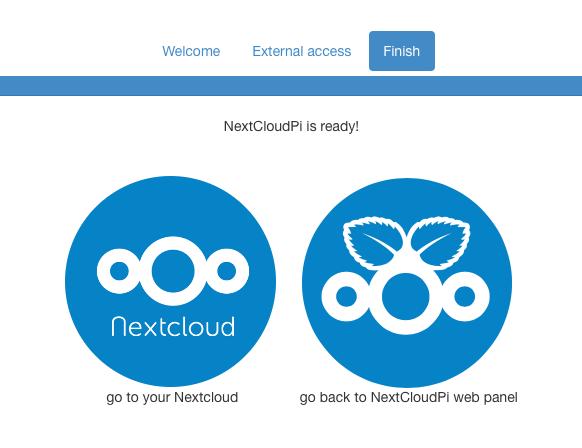 NextCloudPi mittels Docker auf QNAP TS-251 – irgendwas mit